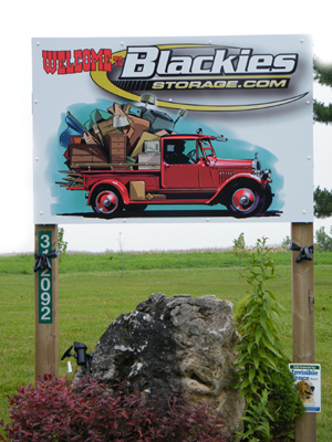 Blackies Storage Orangeville Ontario
